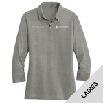L578 - Ladies 3/4 Sleeve Polo