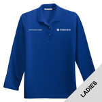 L500LS - Ladies Long Sleeve Pique Polo